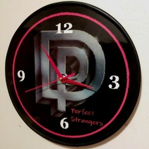 DEEP PURPLE - PERFECT STRANGERS- 12 IN WALL CLOCK